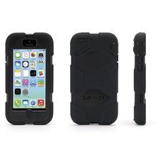 Custodia Survivor per iPhone 5C - Nera