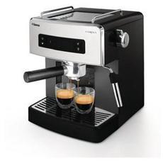 HD8525/01 Estrosa Macchina da Caffè Espresso Capacità 1 Litro Potenza 1900 Watt Colore Nero