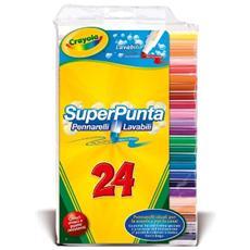 Colora 24 Pennarelli Superpunta Lavabili 7551