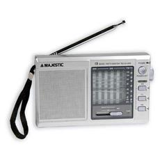 Radio RT-185 Silver Multibanda AM / FM / SW