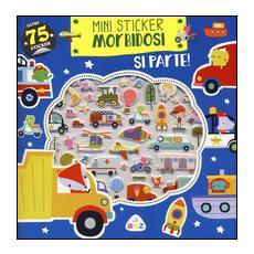 Si parte! Mini sticker morbidosi