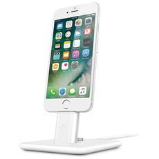 Hirise 2 Deluxe Stand per iPhone e iPad con cavo Lightning - Bianco