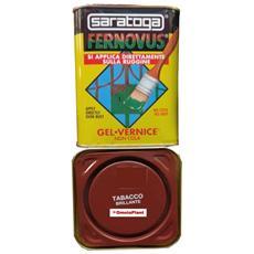 Vernice Gel Antiruggine Fernovus 2,5lt, Tabacco Brillante, Saratoga