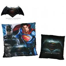 Wa16009 Cuscino Decorativo Quadrato Vs Superman Dawn Of Justice 40x40 Cm