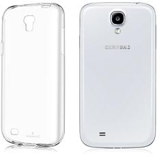 Custodia Cover Anukku? Ultra Fina Trasparente Morbida In Air Gel Per Samsung Galaxy S4 I9500 + Pellicola