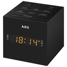 Radio Con Sveglia E Connessione Usb Nero Mrc 4150