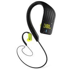 Cuffie Sportive Intrauricolari Endurance Sprint Wireless Bluetooth Resistenti all'acqua con Controlli Touch Colore Giallo