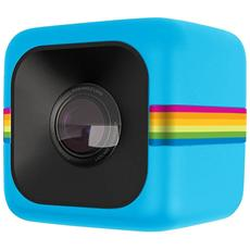 POLAROID - Cube Blu Action Cam Sensore CMOS Filmati Full HD Antiurto e Splash Proof