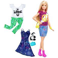 Barbie Fashionista E Moda - Peace&Love