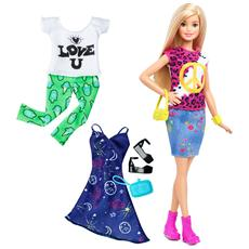 MATTEL - Barbie Fashionista E Moda - Peace&Love