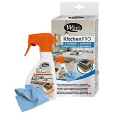 Kit Igiene Cucina Detergente Per Superfici Laminate + Panno In Microfibra Wpro