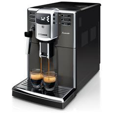Macchina da Caffè Espresso Automatica HD8913/11 Serbatoio 1.8 Lt Potenza 1850 Watt Colore Grigio e Argento