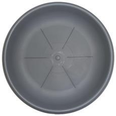 Sottovaso Rotondo Diametro Cm. 22 Colore Grigio
