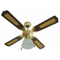 Ev028 Antigua Ventilatore A Soffitto Con Illuminazione