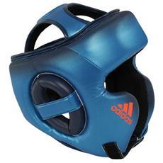 Casco Speed Training Blu Metallizzato Boxe Taglia L