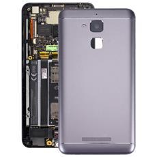 Back Cover Copri Batteria In Alluminio Per Smartphone Asus Zenfone 3 Max / Zc520tl