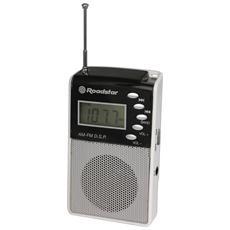 TRA-2375P, 3,5 mm, Personale, LCD, Digitale, FM, MW, Batteria