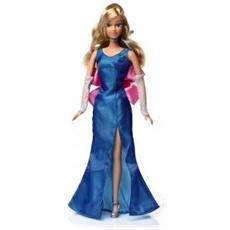 Bambola Tanya Con Abito Blu Da Sera - Alta 29 Cm Completa di Braccia e Gambe Snodate