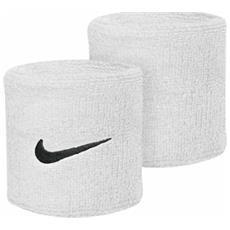 Polsino Tennis Swoosh Wristbands Unica Bianco