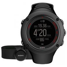 Ambit 3 Run Black Hr L'orologio Gps Pensato Per Runner Con Monitoraggio Della Frequenza Cardiaca E Connessione Mobile