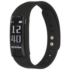 -mobile Fit Band Wristband Activity Tracker 0.96 Oled Senza Fili Ip67 Nero F-bandbr