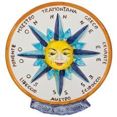 Fregio Decoro In Ceramica Di Bassano L36xpr39xh5 Cm Made In Italy