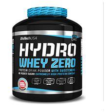 Hydro Whey Zero [1816 G] Gusto Cioccolato - Proteine Del Siero Del Latte Idrolizzate