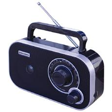 TRA-2235, 3,5 mm, Portatile, Analogico, FM, AC, Batteria
