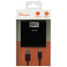 PB06, USB, Nero, Micro-USB, GPS, MP3, Telefono cellulare, Smartphone, Tablet, Telefono, LCD, Micro-USB