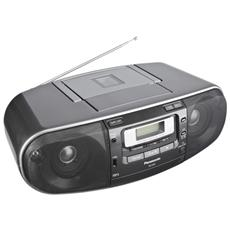 RX-D55, AM, FM, 87.5 - 108 MHz, 520 - 1630 kHz, Lettore, CD, CD-R, CD-RW, 20W