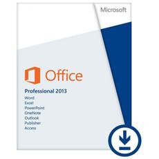 Office Professional 2013 32/64 32/64 It Pklic Online Eurozone It