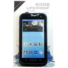 Custodia Subacquea Waterproof Nera Samsung Galaxy S4 I9500 I9505