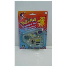 Pokemon Mini-skateboard Portachiavi Con Ruote E Accessori - Squirtle - 8000144512157
