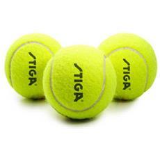 Confezione Di 3 Palline Da Tennis Advance In Feltro Stiga