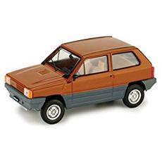 R387-05 Fiat Panda 45 I Serie '80 Brown 1/43 Modellino