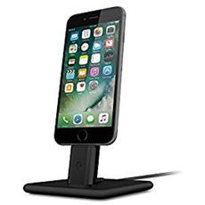 Hirise Deluxe 2 Stand per iPhone e iPad con cavo Lightning - Nero
