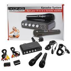 Mixer Karaoke con Echo + 2 Microfoni art. HAV-KM11