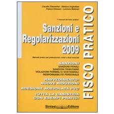 Sanzioni e regolarizzazioni 2009