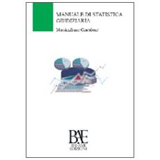 Manuale di statistica giudiziaria