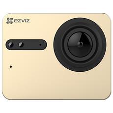 EZVIZ - Action Cam S5 4K Ultra HD Sensore CMOS 16Mpx Wi-Fi...