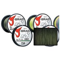 Trecciato J-braid 0,42 Mm 500 M Unica Verde