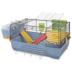 Gabbia Per Conigli E Porcellini D'india Imac Easy Plus 100 100x54,5x45 Cm
