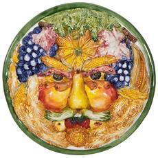 Fregio Decoro In Ceramica Di Bassano L36xpr36xh7 Cm Made In Italy