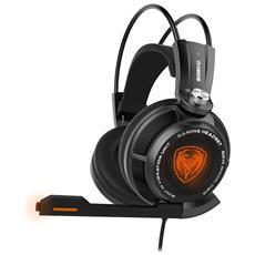 Somic G941 7.1 Virtual Surround Sound Usb Gaming Headset Con Funzione Vibrante Mic Voice Control