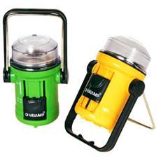 Mini Lanterna Portatile da Campeggio Colore Verde Giallo