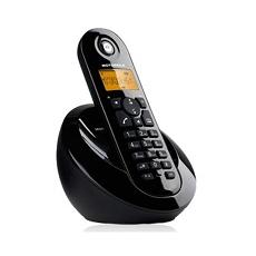 C601B Telefono Cordless Colore Nero