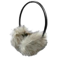 Cuffia Stereo per l'Inverno FUR Jack 3,5 mm con Microfono e Tasto alla Risposta