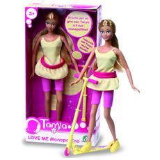 Bambola Tanya Love Con Monopattino 29 cm