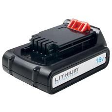 Batteria 18 V 1,5 Ah litio bl1518