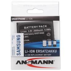 Li-Ion batt. 2600 mAh per Samsung Galaxy S4 / GT-I9500